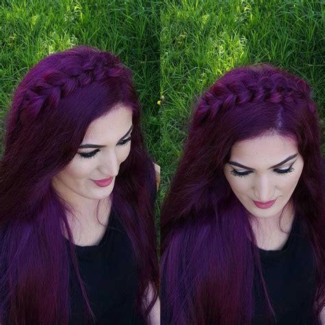 purple rinse hair dye for dark hair relaxer best 20 dark purple hair ideas on pinterest dark purple