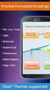 visio subscript vsd viewer for visio drawings free android app market