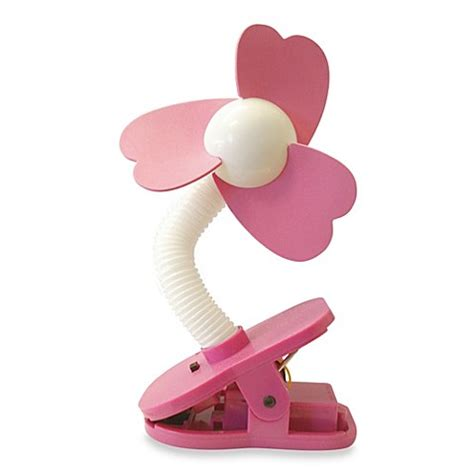 dreambaby clip on stroller fan buy dreambaby clip on stroller fan in white pink from bed