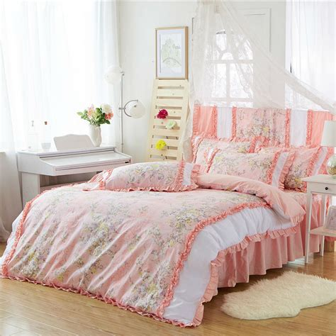 peach colored bedding online get cheap peach colored bedding aliexpress com
