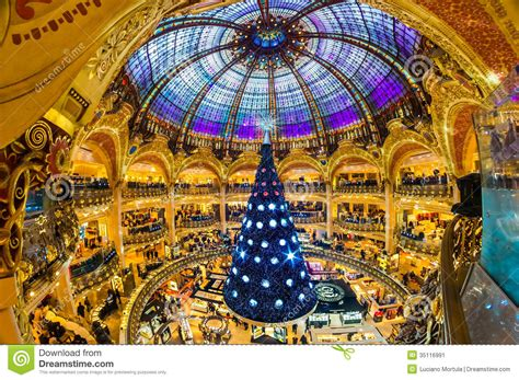 Sale Time At Galeries Lafayette by December 07 The Tree At Galeries