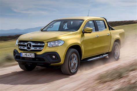 Mercedes X Class Nissan by New Mercedes X Class Up Truck Unveiled Pictures