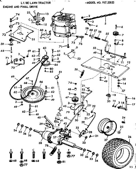 wiring diagram for a craftsman lt1000 sears lt1000 parts
