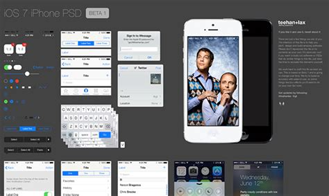 free ios design templates free psd file ios 7 ui kit creative beacon