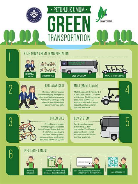 green transportation ipb green campus