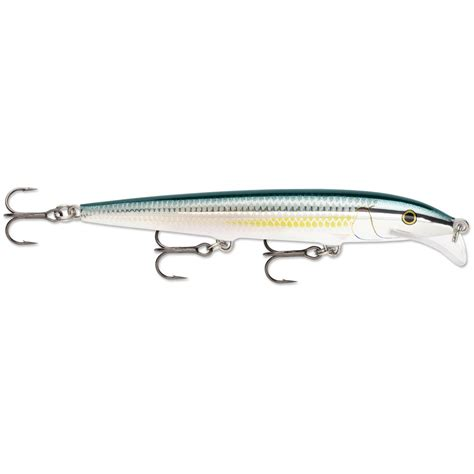 rapala lures rapala scatter rap minnow lure 11 292873 crank baits