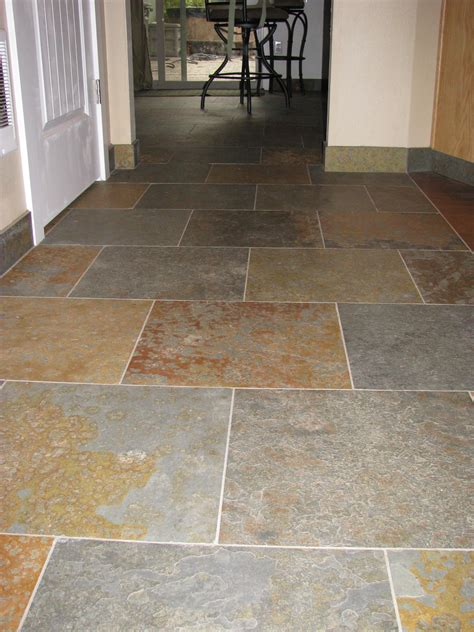 slate tile bathroom floor floors tile bend oregon brian stephens tile inc
