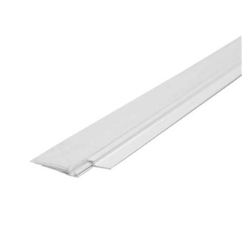 swinging shower door seal prime line 1 1 2 in x 36 in flat bottom sweep for