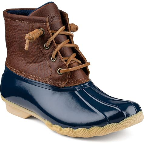 s duck boots sperry s saltwater duck boot 8 5 ebay