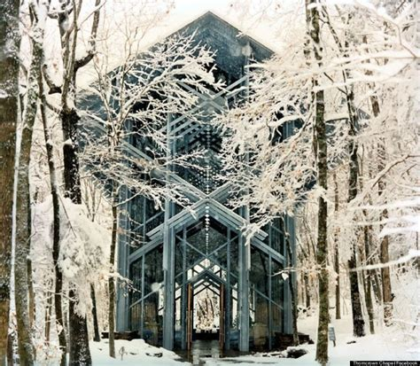 Arkansas' Thorncrown Chapel Is The Glass Church In The