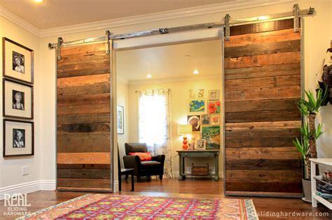 Window Treatments For Sliding Doors In Living Room Custom Barn Door With Stainless Steel Barn Door Hardware