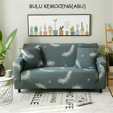 jual kursi sofa cover motif kekinian sarung kursi sofa