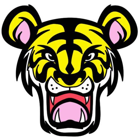 gambar harimau format png fizgraphic freebies harimau malaya bewarna
