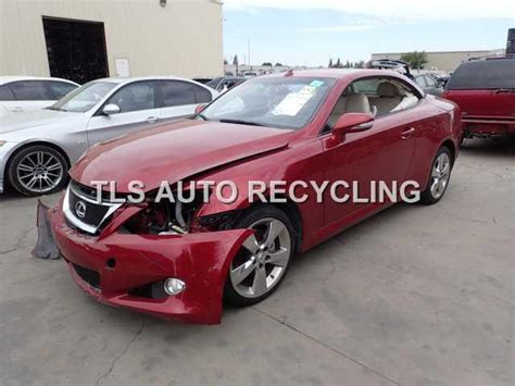 lexus is parts parting out 2010 lexus is 250 stock 5122pr tls auto