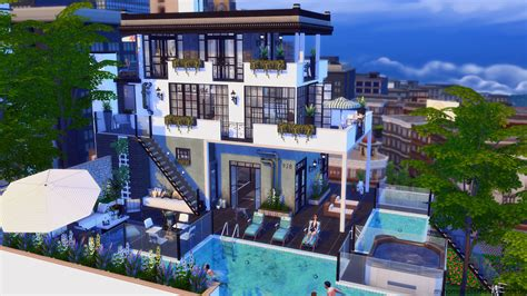 Home Design Cheats by The Sims 4 Penthouse 928 Homeless Sims