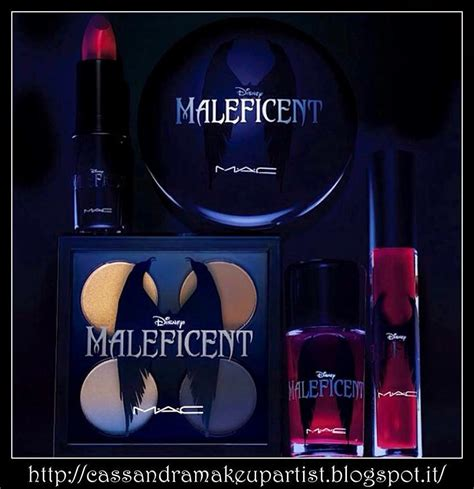 Casandra Blush On Eye Shadow Bles make up artist mac disney maleficent