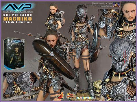 Hottoys Toys Avp She Predator Machiko Mms74 Figure 1000 Genuine Y Toys Mms74 Avp She Predator Machiko 1 6 Scale