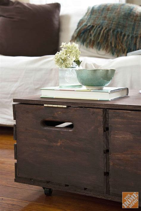 Diy Storage Ottoman Diy Storage Ottoman The Home Depot For The Home