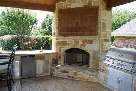 Summer Fireplace Cover by Hideaway Tv Cabinet Family Room Rustic With Bar Cabinetry
