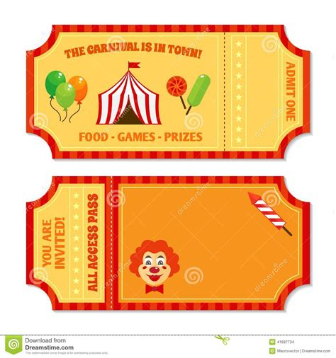 circus ticket template free carnival ticket booth clipart clipart suggest