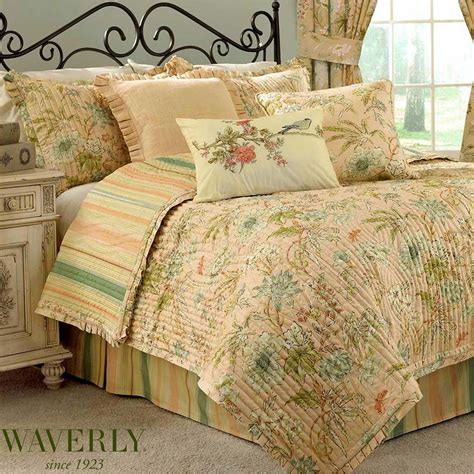 home decor perfect waverly bedding to complete cape coral