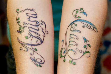 bisexual tattoo designs in style name designs