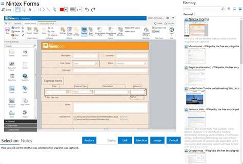 design nintex form nintex forms integration with flamory