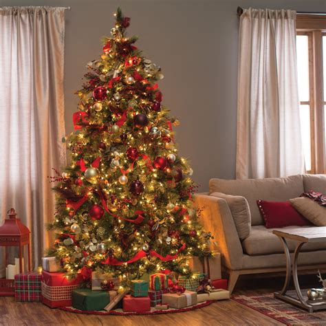 qvc christmas tree pop up cheap pre lit decorated trees www indiepedia org
