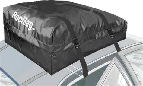 roofbag explorer roof carrier soft waterproof cargo