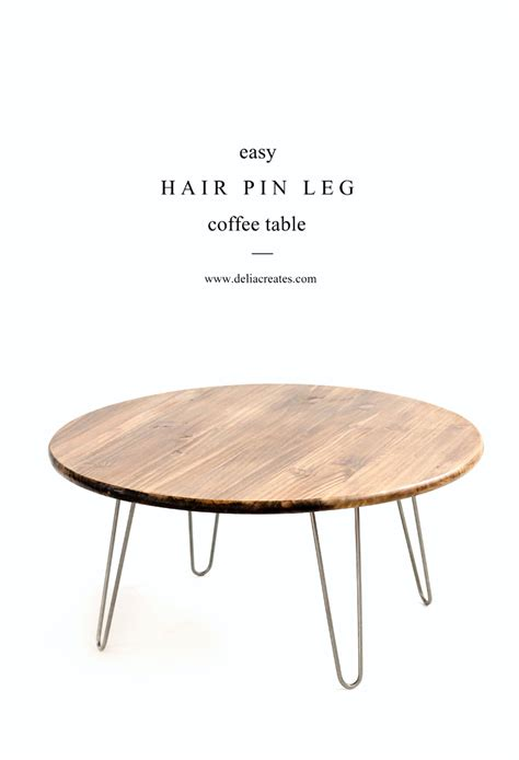 Legs For A Coffee Table Hairpin Leg Coffee Table Tutorial