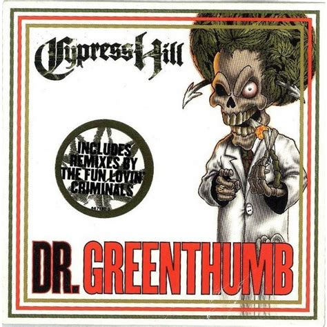 Cypress Hill Dr Greenthumb Mp   cypress hill dr greenthumb 12 inch 33 rpm for sale on