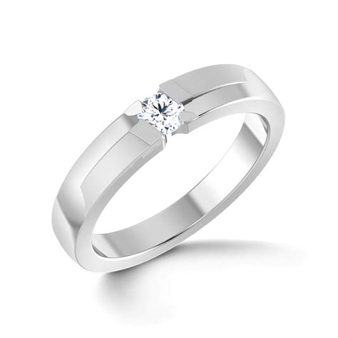 Platinum Band Rings For With Price by Justin Platinum Ring For Him Jewellery India