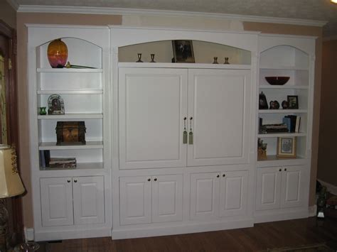 white entertainment center built in white entertainment center procraft woodworks
