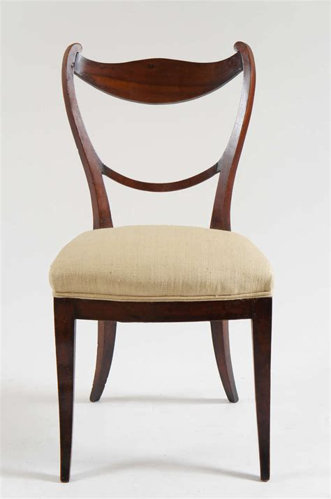 Biedermeier Chairs by Set Of 4 Biedermeier Chairs Vienna C 1830 At 1stdibs