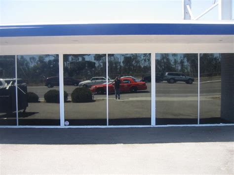 reflective window covering commercial window tinting san diego ca dual reflective 5