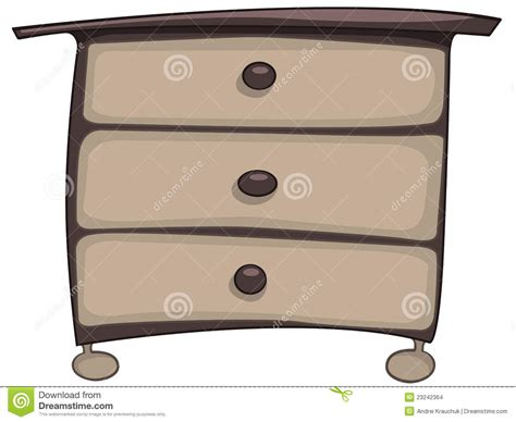 Kitchen Furniture Plans by Cartoon Home Furniture Chest Of Drawers Stock Images