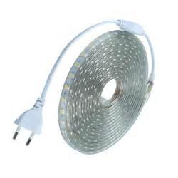 led strips lighting waterproof smd5050 led ac220v led 60
