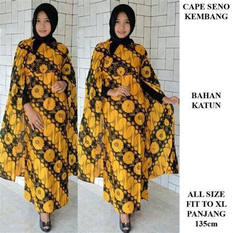 Batik Cape Gamis gamis batik modern gamis kelelawar batik cape batik wanita