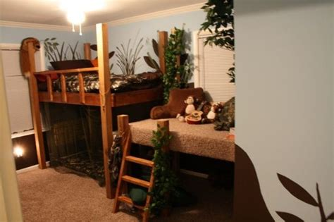 hunting themed bedroom camo hunting themed room loft bed forest theme maybe for amy pinterest boys sons and