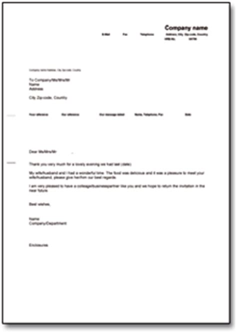 Muster Schreiben Beurlaubung Dehoga Shop Danksagung Nach Einladung Englisch