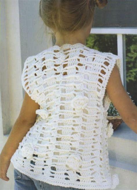 mostrar imagenes de chalecos de nias tejidos a gancho chaleco tejido a gancho imagenes imagui imagui