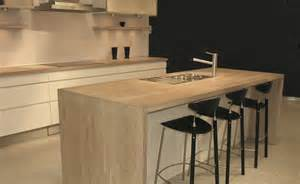 Kitchen Island Worktops kitchen with cream furniture and native oak worktops and island unit