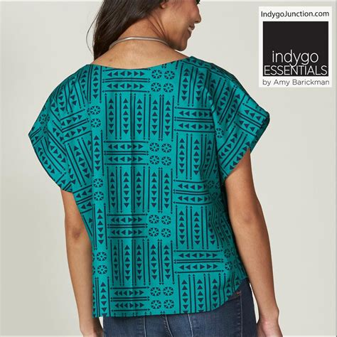 simple pattern top marks easy top tunict by indygo essentials indygojunction