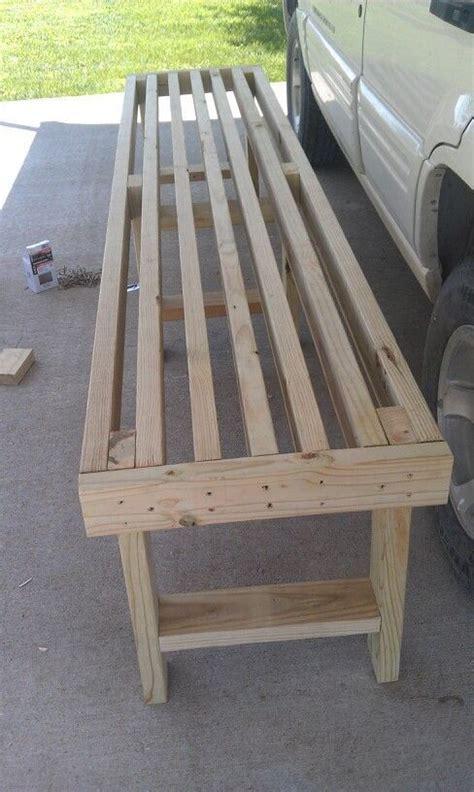 2x4 woodworking bench best 25 2x4 bench ideas on pinterest diy wood bench