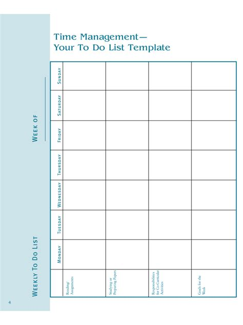 weekly list template 2018 to do list template fillable printable pdf forms