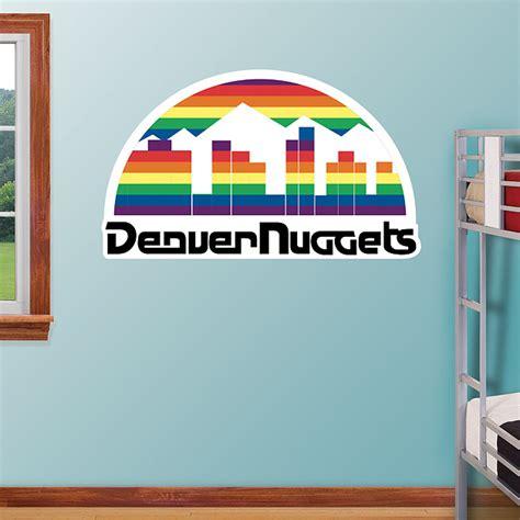Denver Nuggets Giveaways - denver nuggets classic logo wall decal shop fathead 174 for denver nuggets decor