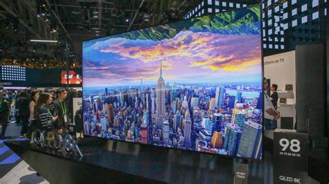 samsung releases new 8k qled tvs at ces 2019 cnet