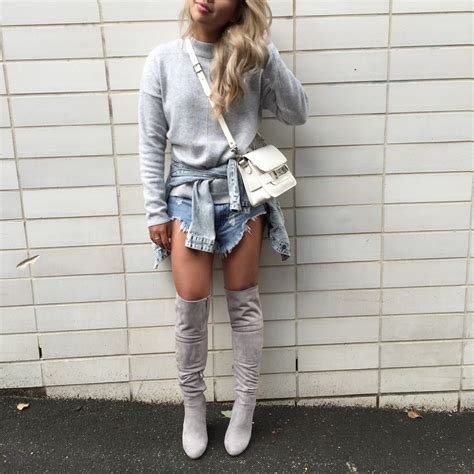 Would You Wear The Knee Boots by How To Wear Knee High Boots Miss Gunner