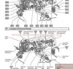 toyota corolla electrical wiring diagram manual pdf
