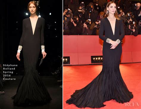 Catwalk To Carpet Berlin Festival by Clotilde Courau In St 233 Phane Rolland Couture Django